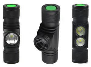 D10-D20-D25 Headlamp 3x7135 driver PCB