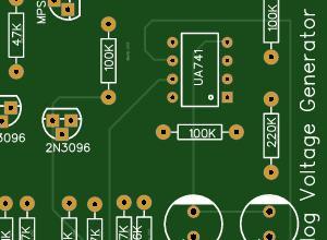 Stanley A Meyer Analogue Voltage Generator Board