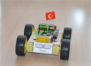Bluetooth Controlled Arduino Nano Car / Bluetooth Kontrollü Arduino Nano Araba