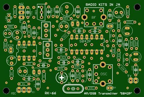 am transmitter (6m:qrp) .input 1W.