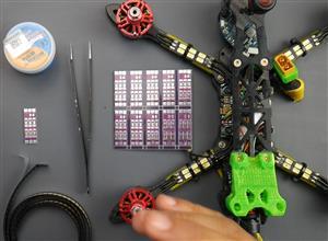 FPV DRONE LED RACEWARE DIY (DroneMesh)