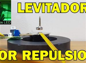 levitador magnetico por repulsion https://www.youtube.com/proyectosledar