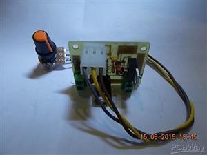 Speed Control for Mini Drill (NE555) \ Регулятор оборотов для мини-дрели