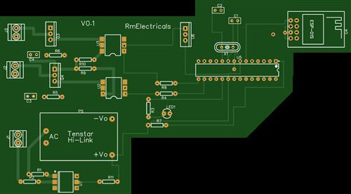 2 channel traic based dimmer home automation