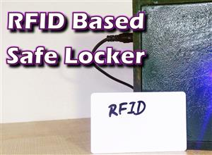 A Safe Locker with RFID Lock