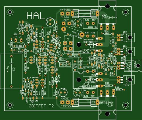 2DIFFET 150 Watt @ 4 Ohm Audio Amplifier