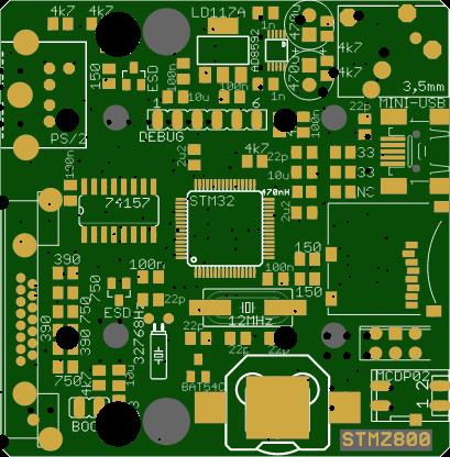 stmz800-эмулятор ретро консолей