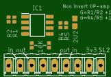 Low Cost Dual Op amp board  LM258ADT