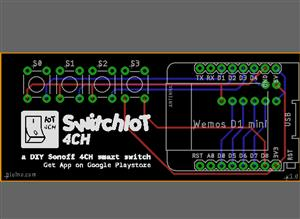 SwitchIoT 4CH - a DIY Sonoff 4CH smart switch