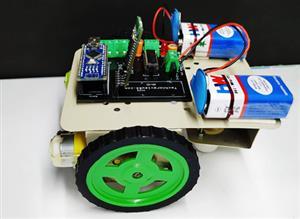 Arduino nano bluetooth control robot car
