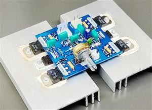 160w amplifier pcb