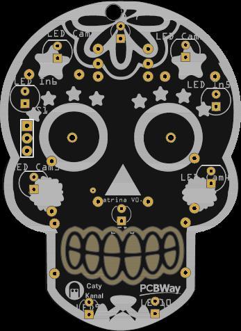 Halloween skull to learn to weld