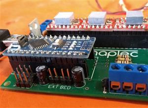 Controladora para impresora 3d casera economica SINAPTEC