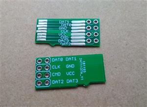 MicroSD breakout board