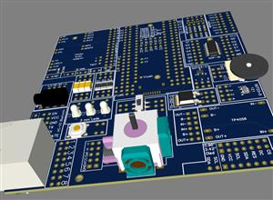 Breakout Board for up to 28 parts