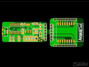 ESP Breakout board with Programmer
