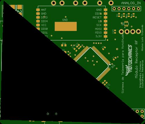 Transceiver RFM95PW 868MHz and with UART interface