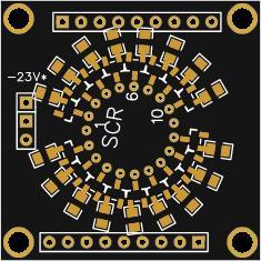 Миниатюрные часы на вакуумно-люминесцентном индикаторе ИВ-21, vacuum indicator IV-21 (part 1 of 4)