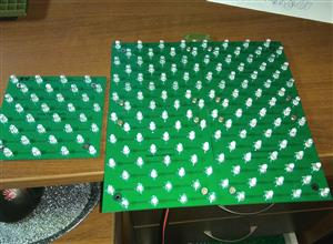 Stackable UV LED module 100x100mm