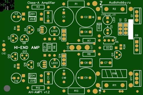 Class A Amplifier AH-AMP1