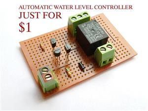 AUTOMATIC WATER LEVEL CONTROLLER.
