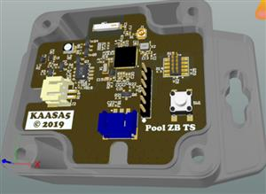 Pool Temperature Sensor Zigbee/Bluetooth