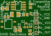 IR Transmitter and Receiver Circuit for Arduino