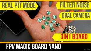 DroneMesh FPV Magic Board Nano (Smallest Dual Analogue Video Switcher)