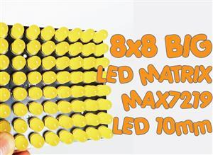 Bluino 8x8 BIG LED Matrix Display
