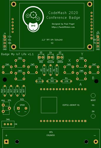 ESP32 Conference Badge