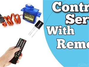 Servo Motor Control with Remote
