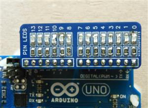 14 Led SMD 0805 - Arduino Shield