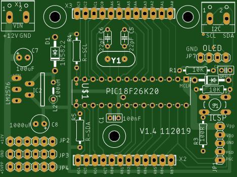PIC18F26K20 OLED Module