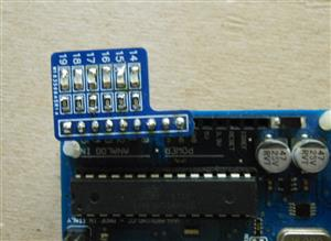 6 Led SMD 0805 - Arduino Shield