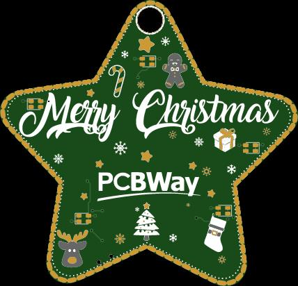 PCBWay Christmas 2019 Star