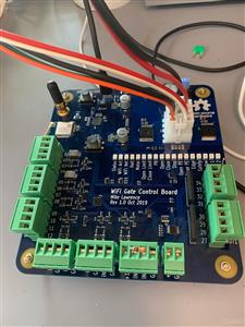 WiFi Gate Control Board