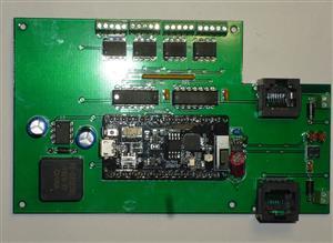 ESP32 Quad Stall Motor Controller with Point Sense