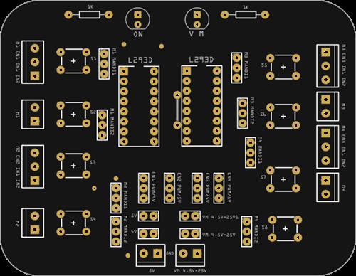 Controlador de Motores DC