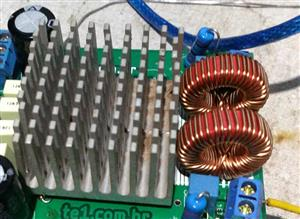 Circuit Power amplifier stereo IC TDA7854TH 2x 210W
