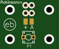 PCB para 1 pulsador NO