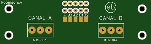 PCB con 2 interruptores MTS-103