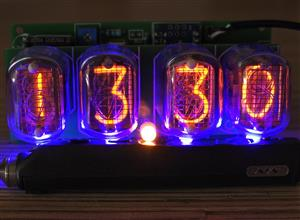 Nixie Clock on IN-12 and Arduino v2