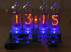 Nixie Clock on IN-14 and Arduino v2