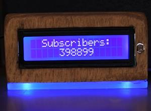 YOUTUBE SUBSCRIBERS COUNTER