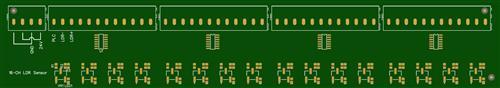 16 CH LDR sensor for PLC input