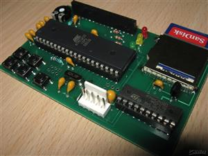 ATARI XL/XE SIO2SD Interface PCB AVR software v 3.X