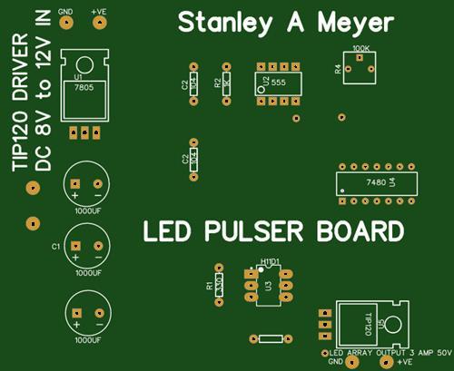 Stanley A Meyer LED Pulser