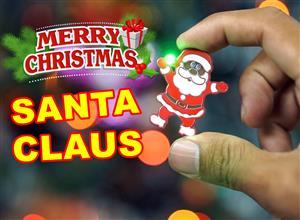 Santa Claus Christmas Pin