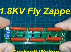 1850V Cockroft Walton Voltage Multiplier / Bug Zapper Circuit