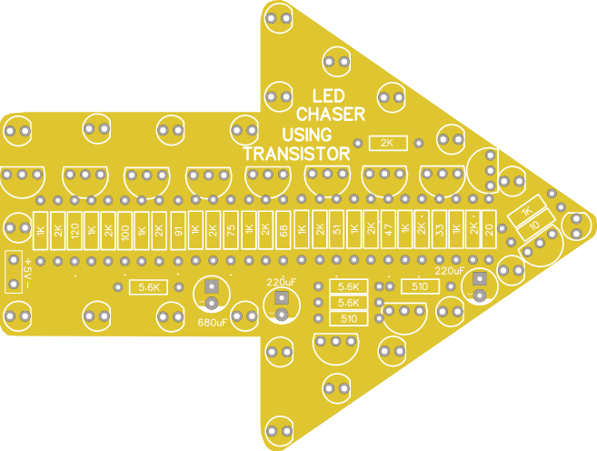 LED Chaser Without IC By Using Transistors Only - Share ...